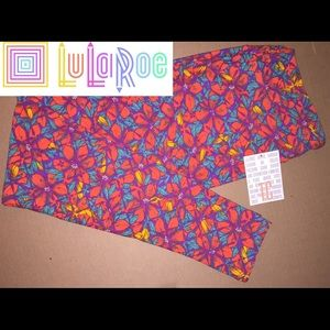 NEW LuLaRoe TC Leggings Floral